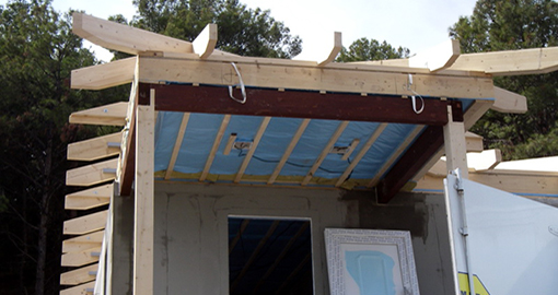 Construction of prefabricated house