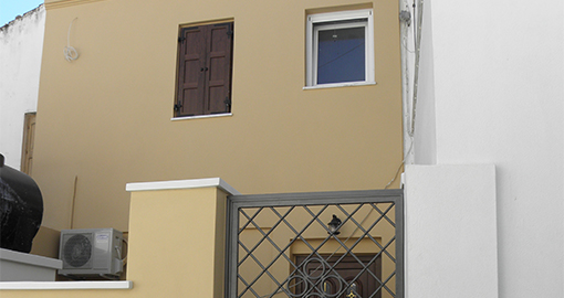 Επισκευή κατοικίας στο Πυθαγόρειο Σάμου